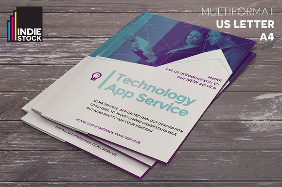 Technology brochure template brochure templates on for Technology brochure templates