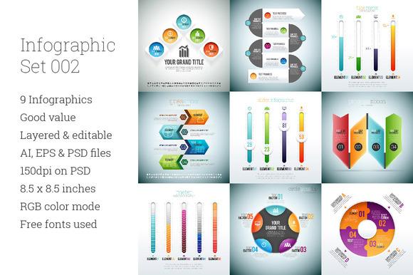Infographic Set 2