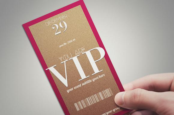 MINIMAL VIP PASS Card