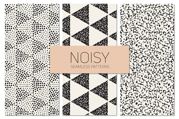 Noisy Seamless Patterns