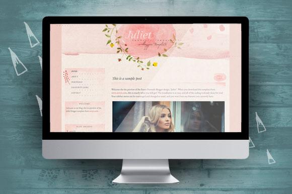 Juliet Blogger Theme