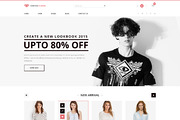 Fashion- eCommerce PSD Temp-Graphicriver中文最全的素材分享平台