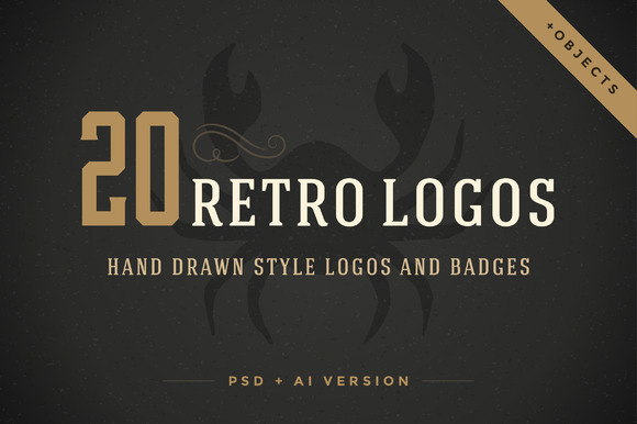 20 Hand Drawn Logos