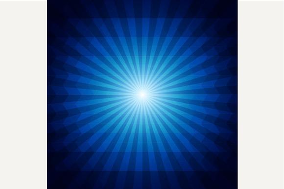 Deep Blue Dark Geometric Background