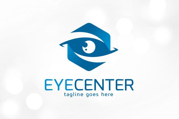 Eye Center Logo Template