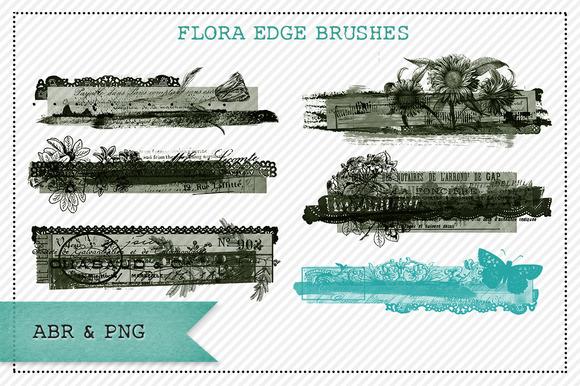Flora Edge Brushes