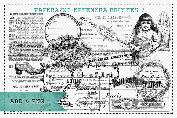 Paperazzi Ephemera Brushes 2