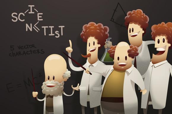 Scientists Vector