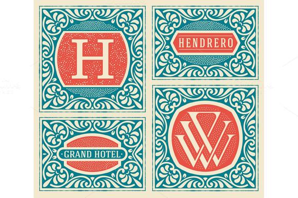Retro Cards Templates
