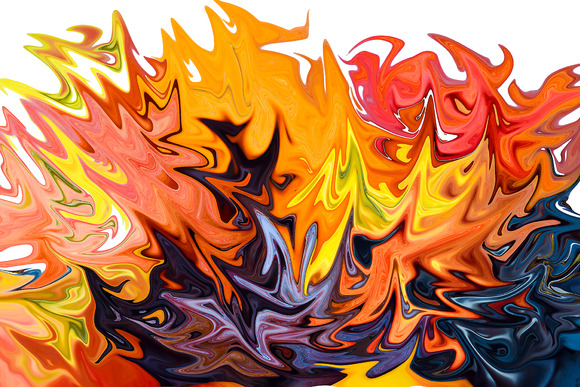 Bohfire of vanities. Abstraction. - Illustrations