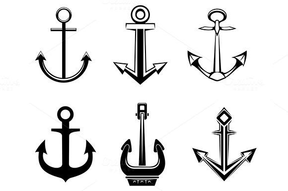 Set Of Anchor Symbols