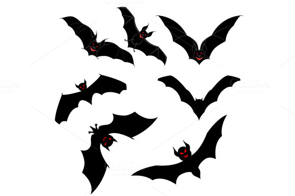 Flying Bats Set