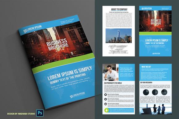 Corporate Bifold Brochure Vol 04