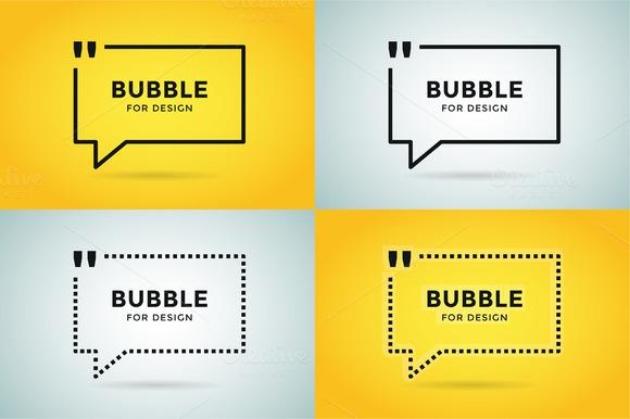 Quote Bubble Motivation Citation Set