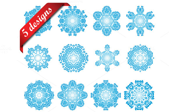 60 Snowflake Icons