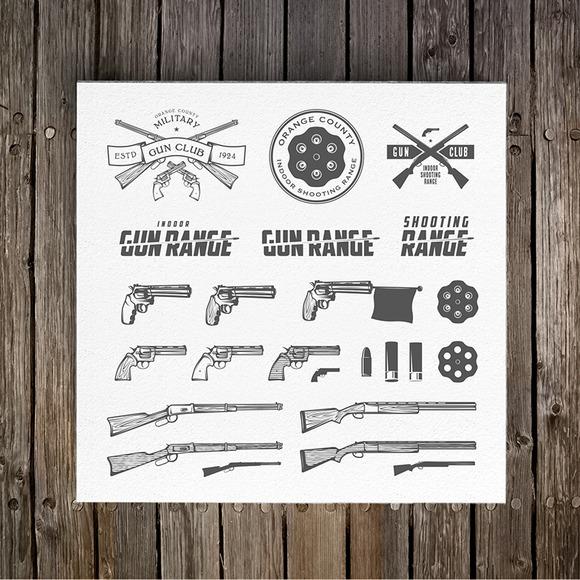 Clay Target And Gun Club Emblems