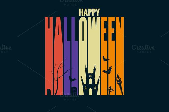 Halloween Background Holiday Design