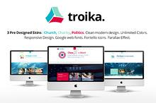 Troika - Multipurpose WordPress Them