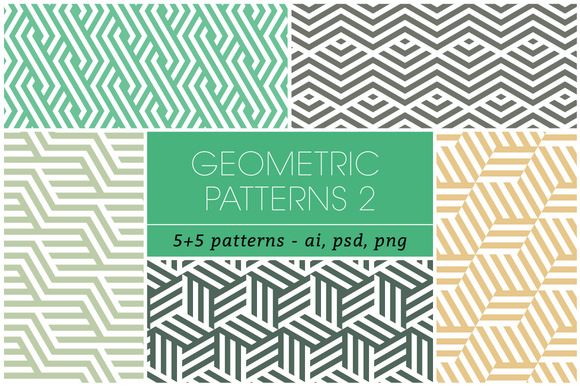 Seamless Geometric Patterns 2