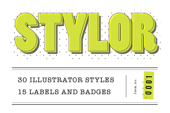 STYLOR Styles Labels Badges No1