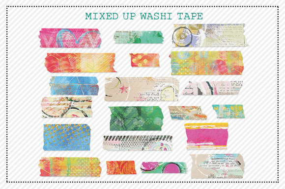 Mixed Up Washi Tape