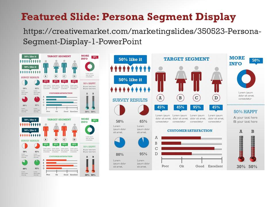 competition analysis 2 powerpoint presentation templates on creative market. Black Bedroom Furniture Sets. Home Design Ideas