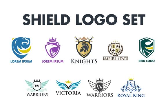 Shield Logo Set