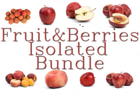 Fruits Berries Vegetables Bundle