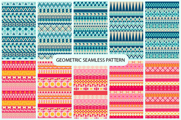 10 Geometric Patterns