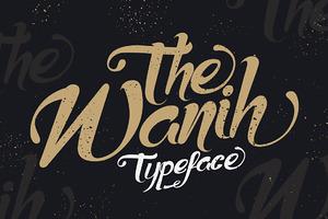 Wanih Typeface
