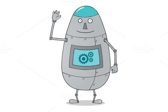 Happy Fat Robot