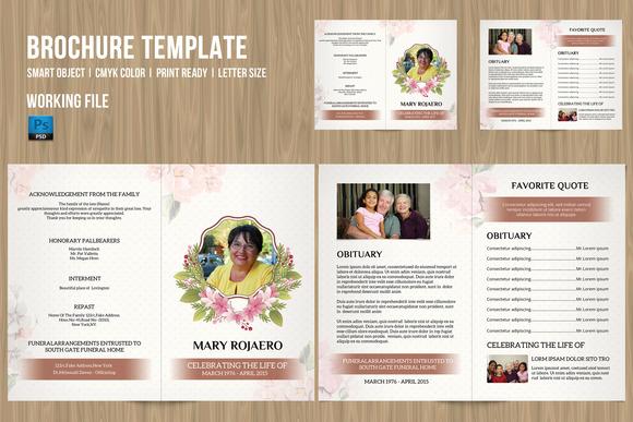 Funeral Program Template-V181