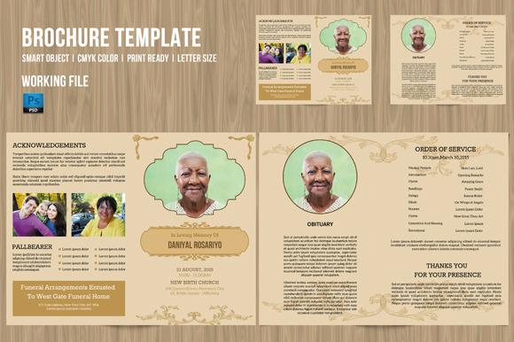 Funeral Program Template-