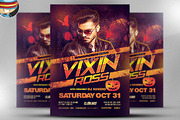 Vixin Halloween Club Flyer -Graphicriver中文最全的素材分享平台
