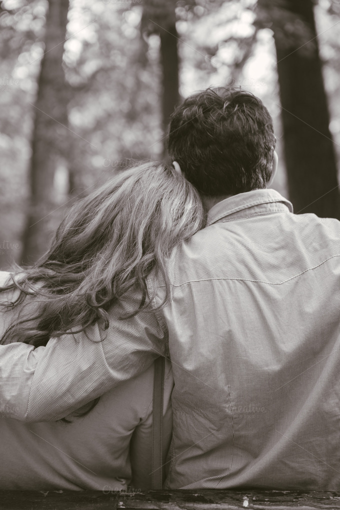couple hugging eachother ~ People Photos on Creative Market