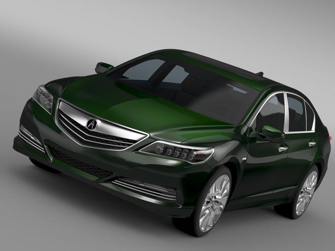 Acura RLX SH AWD 2015