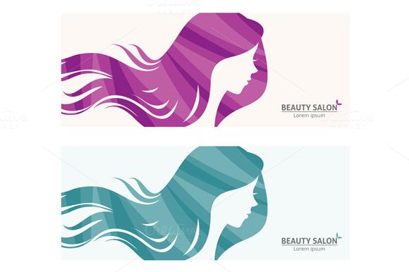logo for beauty salon logo templates on creative market