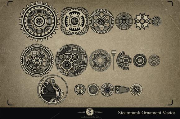 SteamPunk Ornament