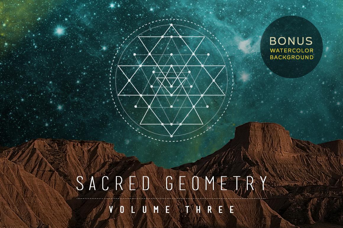 Sacred Geometry Vector Set V.3 $9