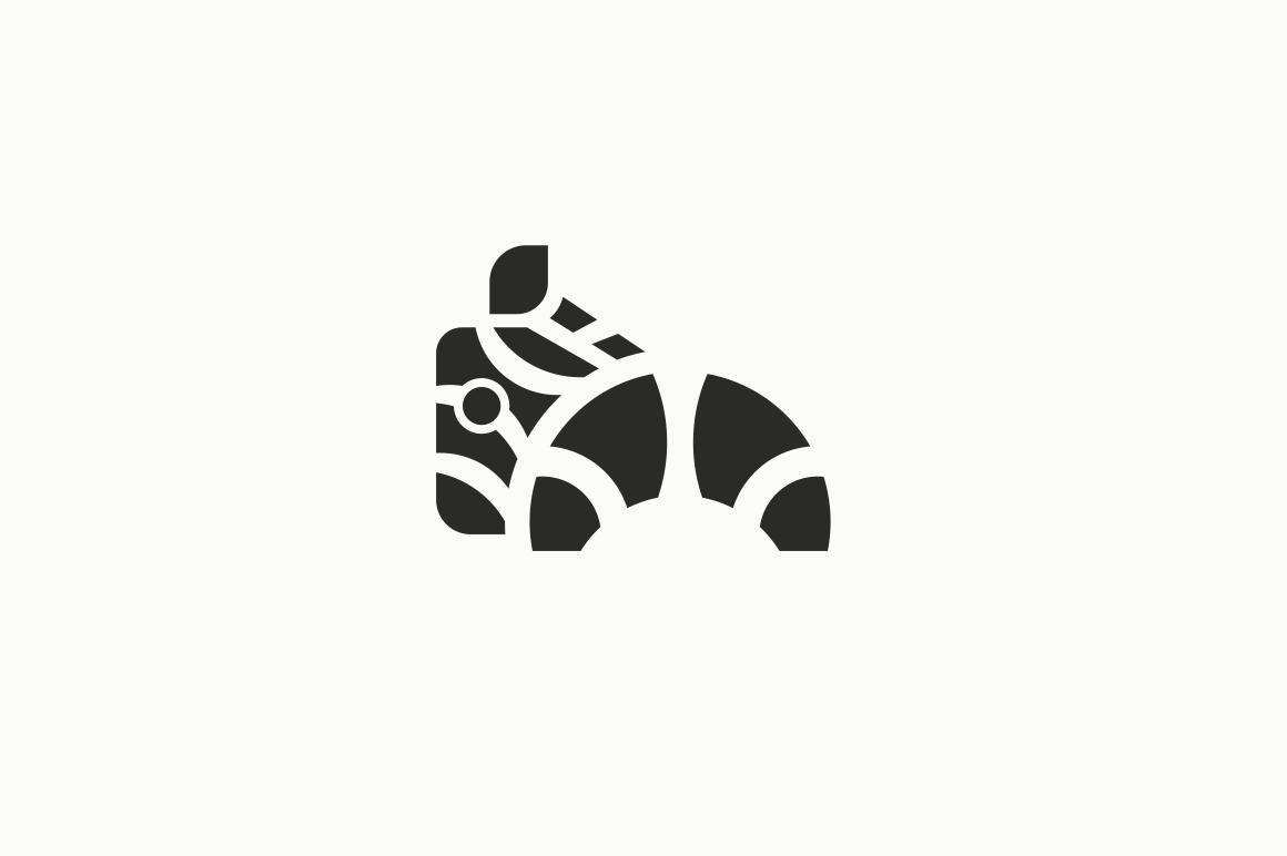 zebra logo template logo templates on creative market