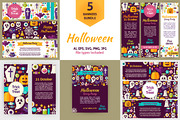 Scary Halloween  Vector Fla-Graphicriver中文最全的素材分享平台