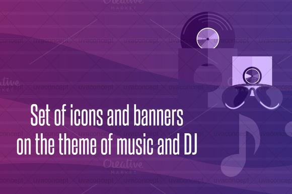 Dj And Music Theme