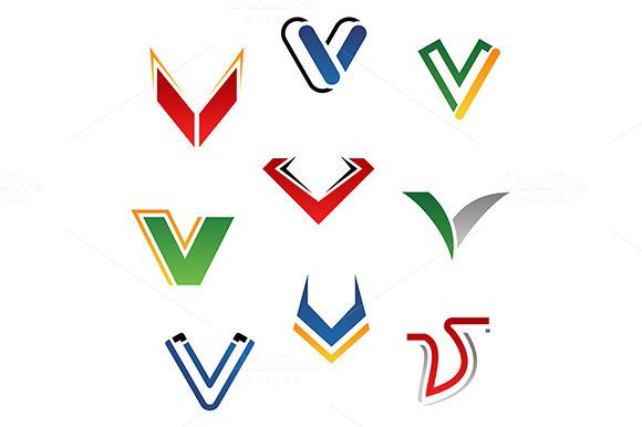 Alphabet Letter V