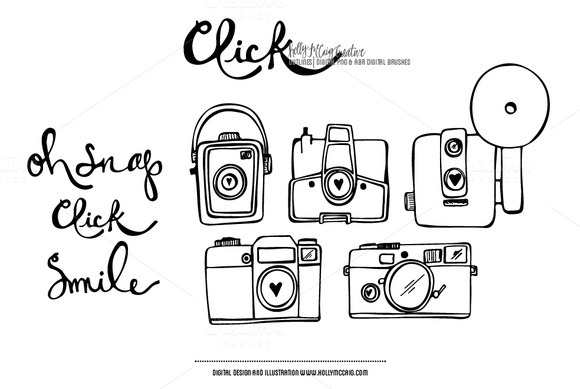 Click PNG Photoshop Brush Clip Art ~ Illustrations on