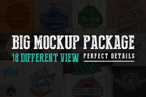 Big Mockup Package