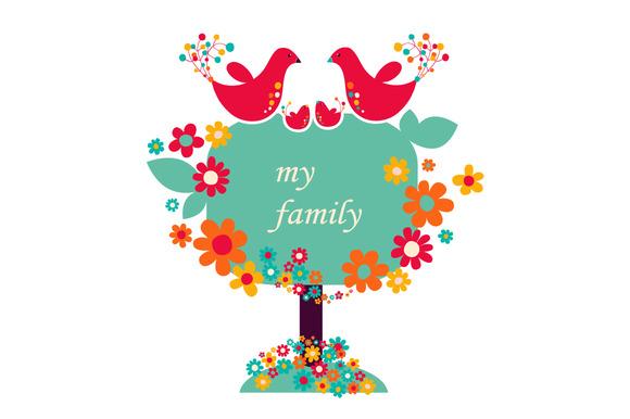 Illustration My Family