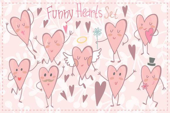 Funny Hearts