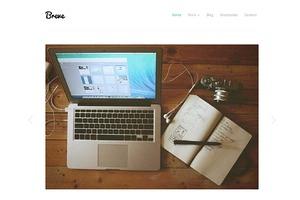 Breve - Responsive Portfolio Theme
