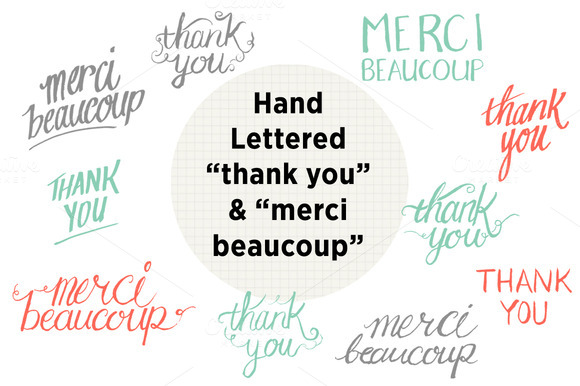Hand Lettering Thank You