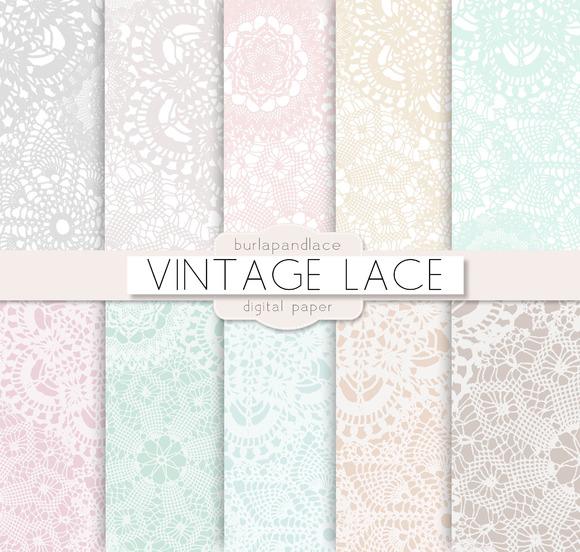 Lace pattern ~ Patterns on Creative Market